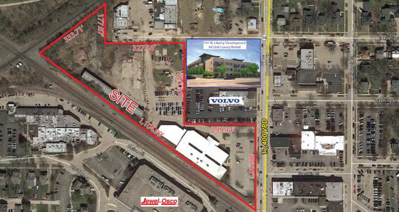 New Construction Space For Sale Downtown Barrington